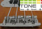 Tone Up 3D Bridge on a bass